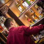 Widok na bar.